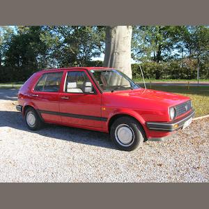 1989 Volkswagen Golf,
