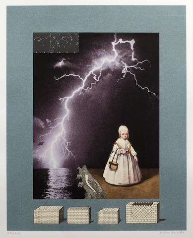 Sir Peter Blake (British, born 1932) Homage to Joseph Cornell, 1996 signed in pencil and numbered 23