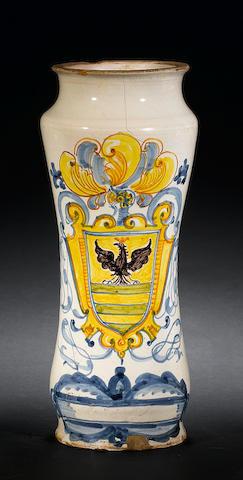 18th c Italian maiolica vase