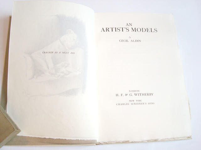 ALDIN (CECIL) An Artist's Models