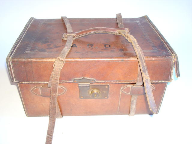 A C. Farlow & Co. Ltd, 10 Charles Street, leather tackle case