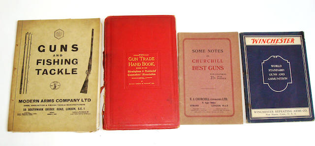 A collection of shooting related catalogues and pamphlets
