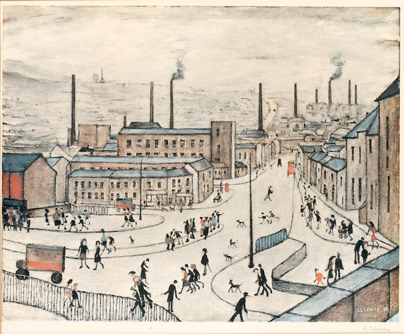 Laurence Stephen Lowry R.A. (British, 1887-1976) Huddersfield