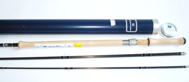 A Hardy 'Ultralite Salmon Fly' 15ft three piece #10 fly rod