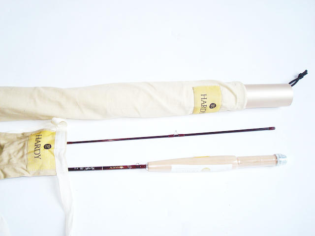 A Hardy fly weight 6ft two piece #2 trout fly rod