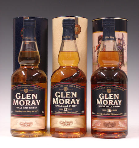 Glen Moray, Glen Moray-12 year old and 16 year old (3)