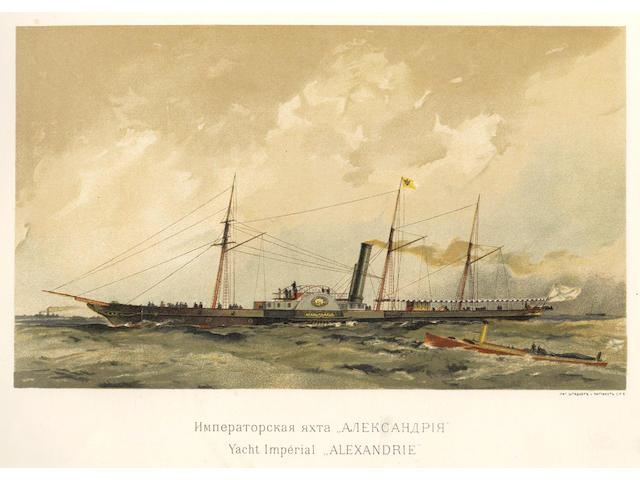 RUSSIA - NAVY MIHKHAILOVICH (ALEKSANDR, Grand Duke) Russkii flot [The Russian Fleet]