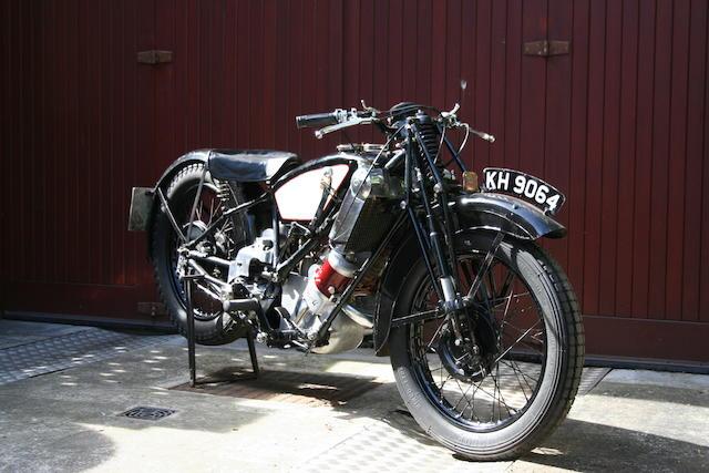 1929 Scott 596cc Flying Squirrel Frame no. 2650M Engine no. FZ3541A