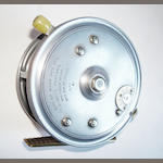 A Hardy The 'Super Silex' centrepin reel 4 in.