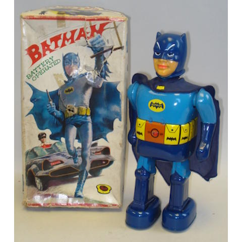 Nomura battery operated Batman, Japan 1960's