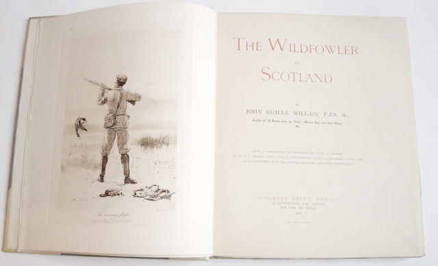 MILLAIS (JOHN GUILLE) The Wildfowl in Scotland