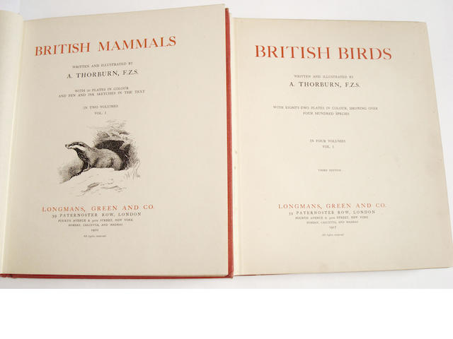 THORBURN (ARCHIBALD) British Mammals