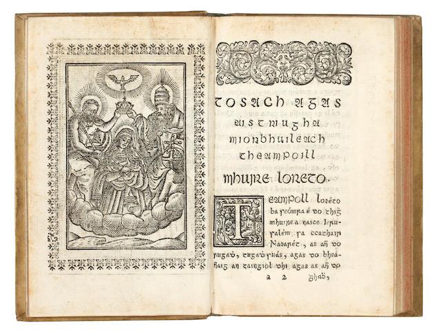 IRISH O'HUSSEY (BONAVENTURE) An Teagasg Criosdaidhe añ so, arna ċuma do Bonaḃenturá ohoḋasa bráṫar bos dord San Próinsias accolaisde S. Antoin a Lobain