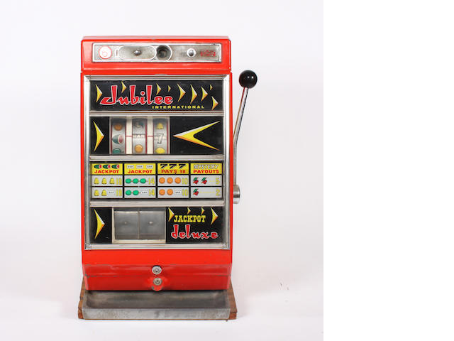 Fruit machine Jubilee International