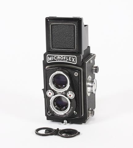 MPP Microflex twin lens Reflex camera