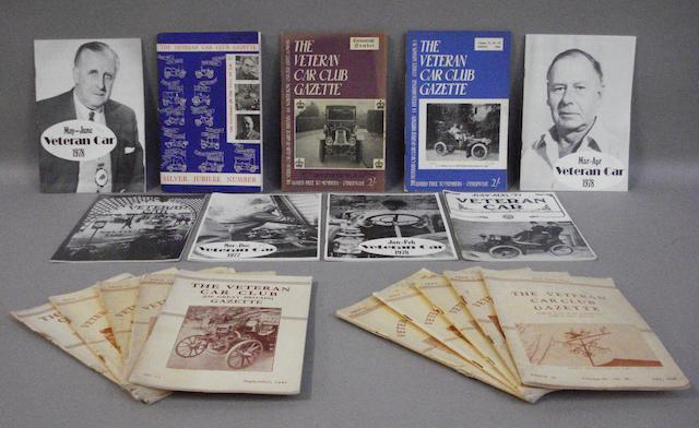 Veteran Car Club Gazette 1945-1955,