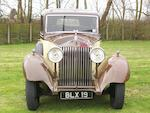 The ex-Rolls-Royce Ltd trials car,1935 Rolls-Royce 20/25hp Limousine  Chassis no. GSF2 Engine no. U7B