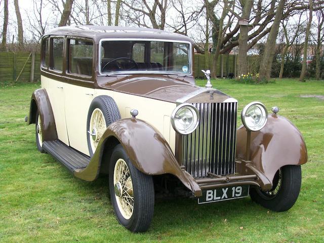 1935 Rolls-Royce 20/25 Saloon