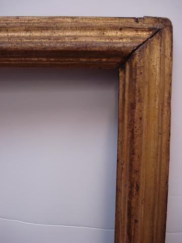 An Italian 18th Century gilded moulding frame