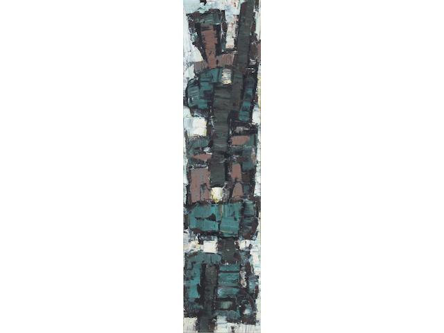 "Frank Avray Wilson (British, 1914-2009) ""Browns No.11"" 135 x 43cm."