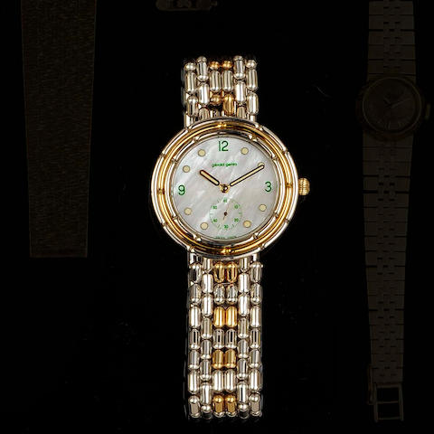 Gerard Genta: An 18ct yellow and white gold bracelet watch