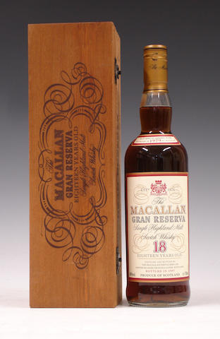 The Macallan Gran Reserva Reserve-18 year old-1979
