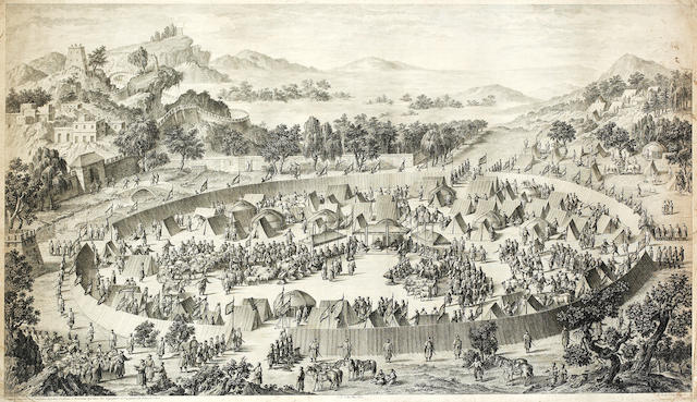 QIANLONG CONQUESTS The Leader of Us (Turfan) Surrenders His City