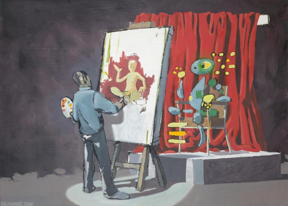 Banksy (British, born 1975) Untitled, circa 1998