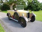 1927 Singer 8hp Junior Three-door Tourer  Chassis no. 2231        Engine no. 2360