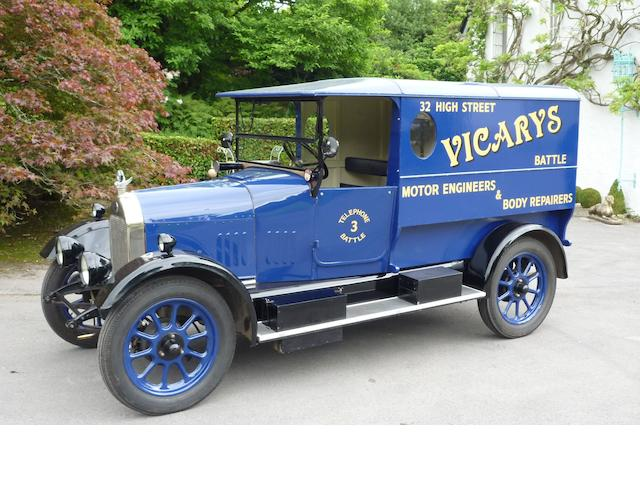1924 Morris Commercial 8cwt Standard 'Snubnose' Van  Chassis no. 64337 (see below)       Engine no. 74075