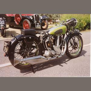 1938 BSA Empire Star, Frame no. JM192434 Engine no. JM23810