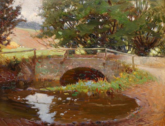 Frederick Hall (British, 1860-1948) The Lambourn