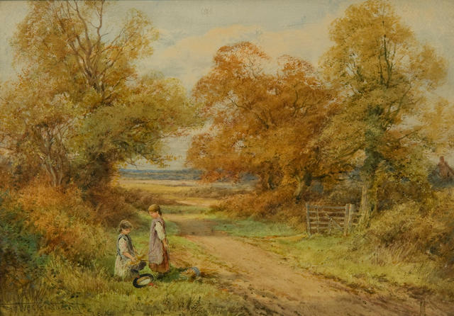 Henry John Sylvester Stannard, RBA (British, 1870-1951) Early Autumn