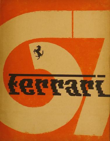 1967 Ferrari Yearbook