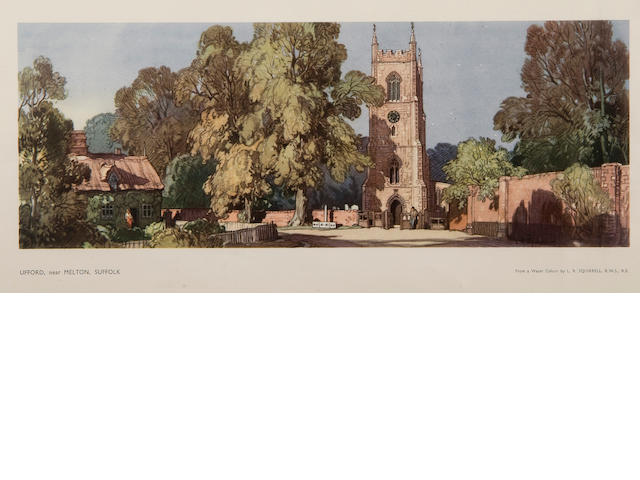 Leonard Russell Squirrell, R.W.S., R.I., R.E. (British, 1893-1979) 'Ufford, near Melton, Suffolk'