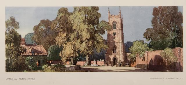 Leonard Russell Squirrell, R.W.S., R.I., R.E. (British, 1893-1979) 'Ufford, near Melton, Suffolk'