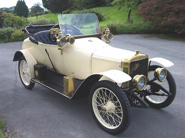 1913 Adler 9hp 1.3-litre Kleinwagen Two-seater  Chassis no. 7840   Engine no. 8112K