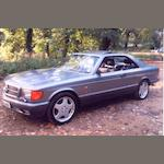 1989 Mercedes-Benz 420SEC Coupé  Chassis no. WDB1260462A464219 Engine no. 11696522068397