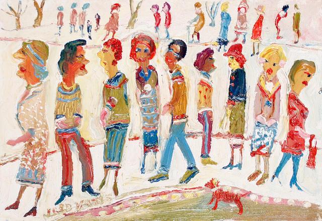 Fred Yates (British, 1922-2008) Street Life I