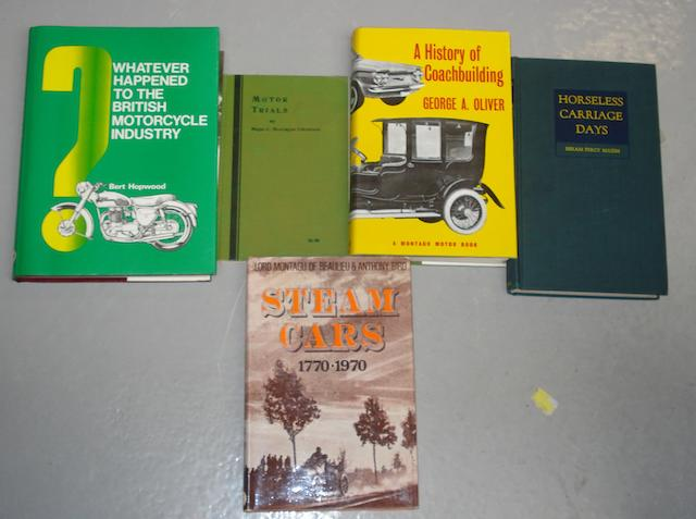 A lot of literature relating to motoring lost causes,