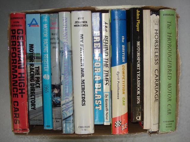A lot of motoring literature,