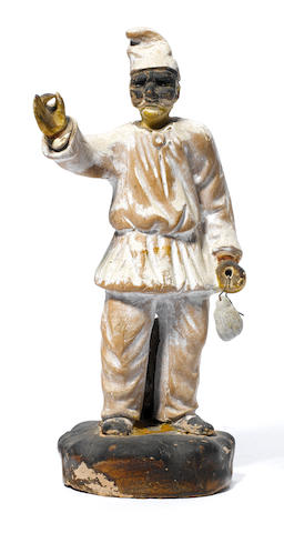 1 Pulcinella sculpture