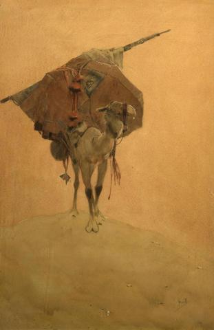 John Hassall (British, 1868-1948) Nomad