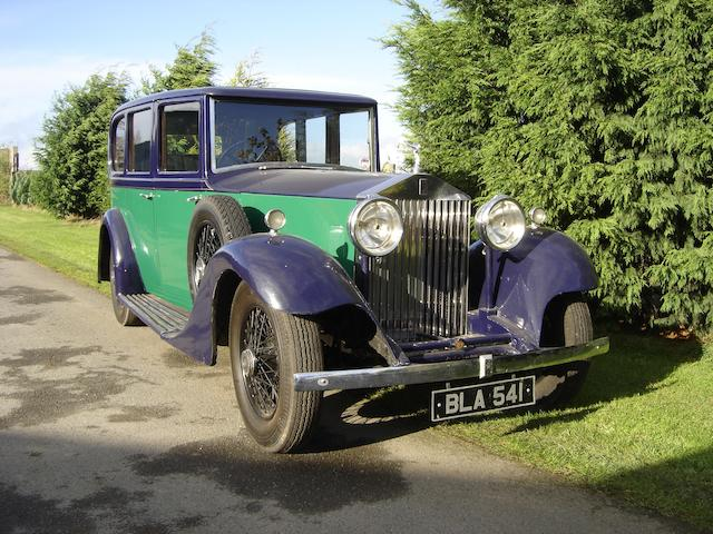 Formerly the property of Henry Hall,1934 Rolls-Royce 20/25hp Limousine  Chassis no. GAE22 Engine no. U9Z