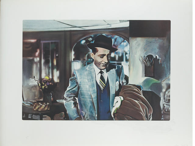 Richard Hamilton (British, born 1922) I'm Dreaming of a Black Christmas Collotype printed in colours, 1971, on wove, an unsigned proof, the state before the addition of two stages of silkscreen, published by Professional Prints A.G., Zug, 750 x 1000mm (30 3/4 x 39 1/4in)(SH) unframed