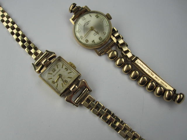 Two wristwatches,