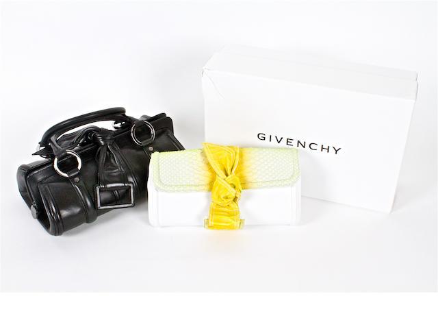 Two Givenchy handbags
