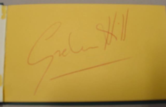 An Autograph album,