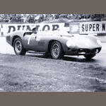 Three photographs by Nick Loudon depicting Ferrari sports racing cars,
