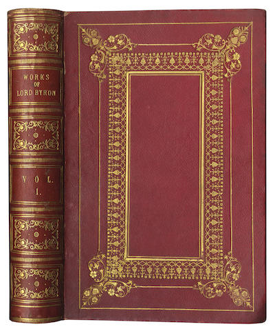 BYRON (Lord GEORGE GORDON NOEL) The Works... with a Life and Illustrative Notes, by William Anderson, 2 vol.